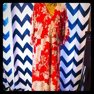 Red Dress Lane Bryant New